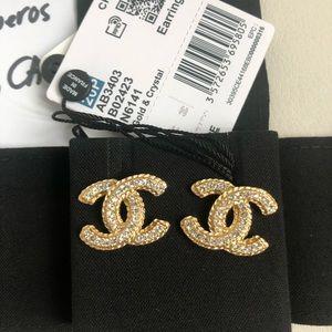 Brand New Chanel Earrings
